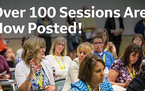 Over 100 Sessions Are Now Posted!