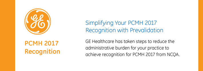 Simplifying Your PCMH 2017 Recognition with Prevalidation