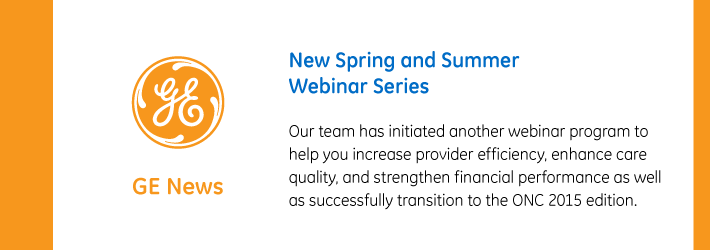 Post: New Spring and Summer Webinar Series